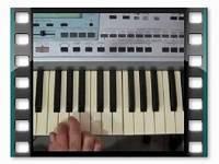 آموزش تصویری ارگ 6 آهنگ  شماره 2